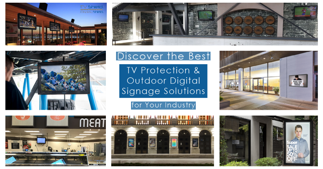 The Best Outdoor Digital Signage for Your Industry