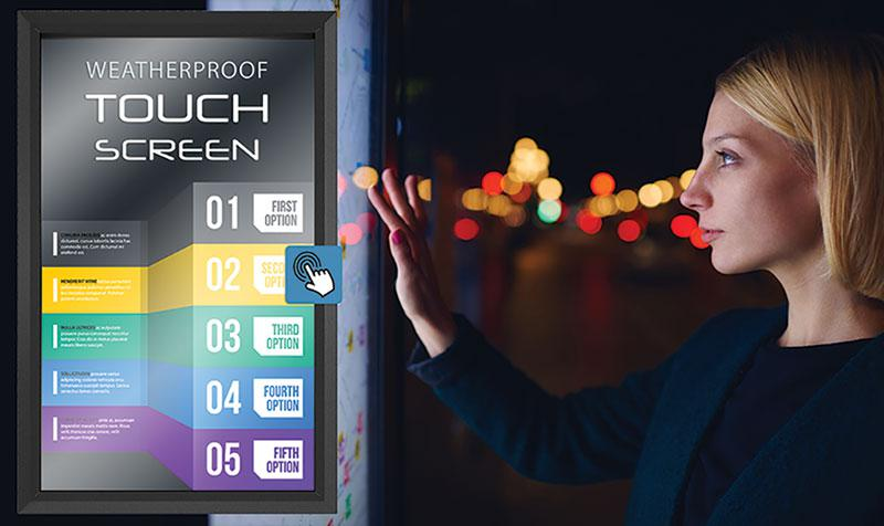Best Outdoor Touch Screen Solution for TVs and Displays - The Display Shield
